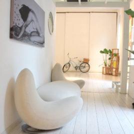 Design showroom in Milan